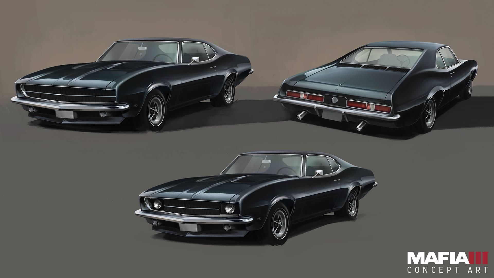 Mafia 3 muscle car
