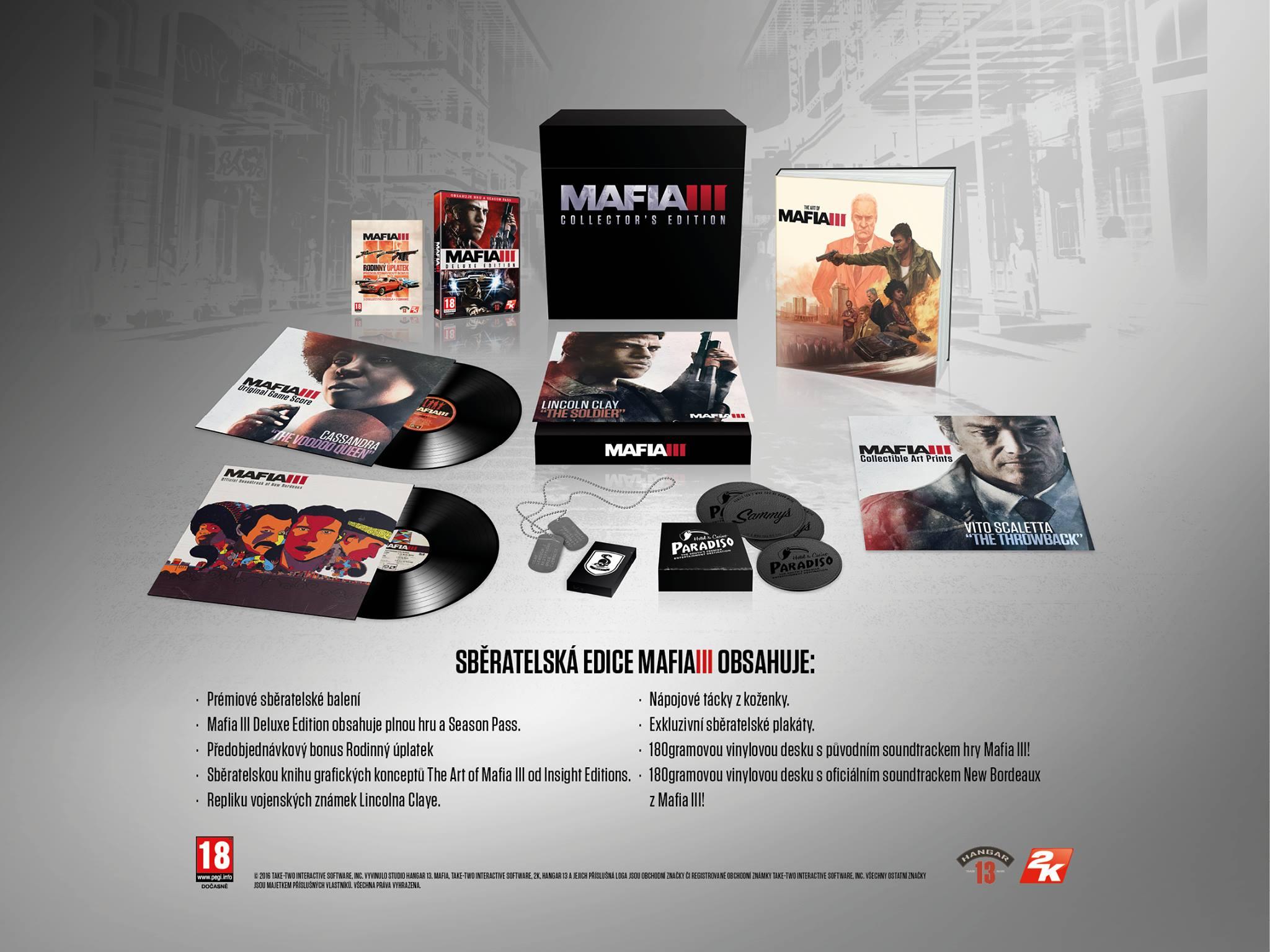 Mafia 3 - sběratelská edice