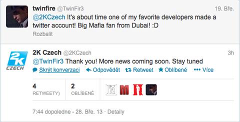 2K Czech odpovídá na Twitteru