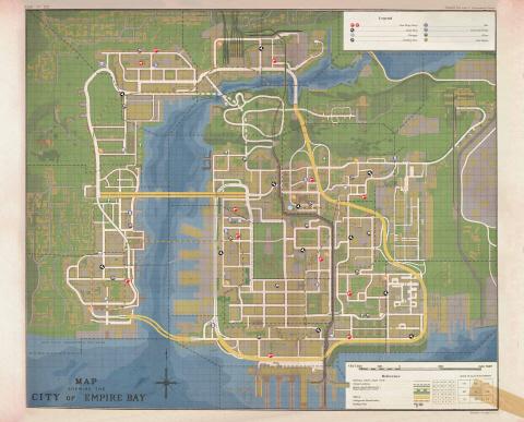 mapa Empire Bay