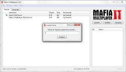 Mafia 2 multiplayer - Server browser