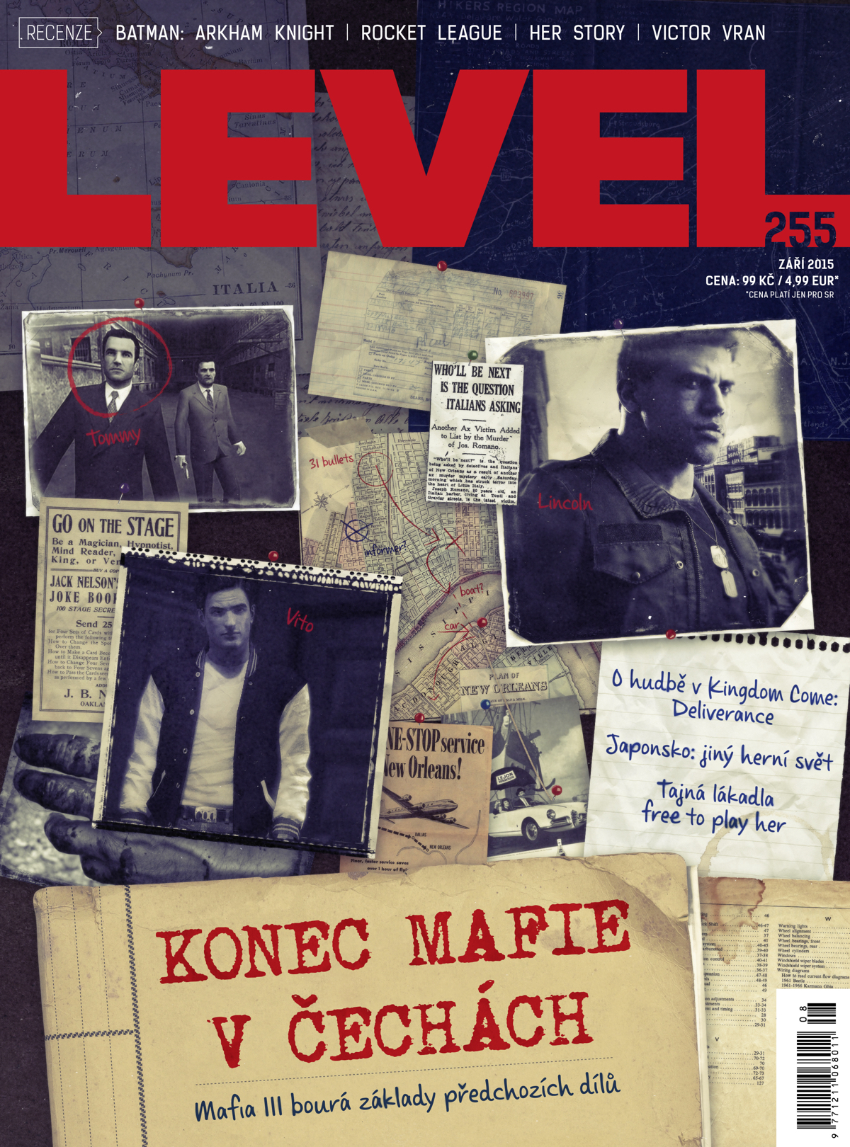 LEVEL č. 255 - cover