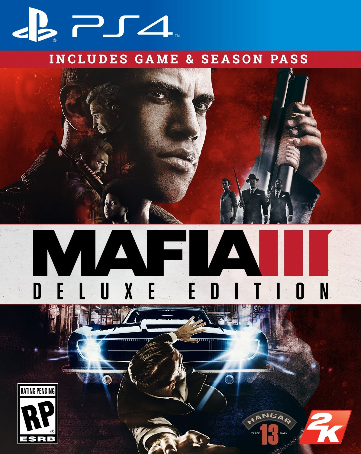 Mafia 3 - deluxe (PS4 version)