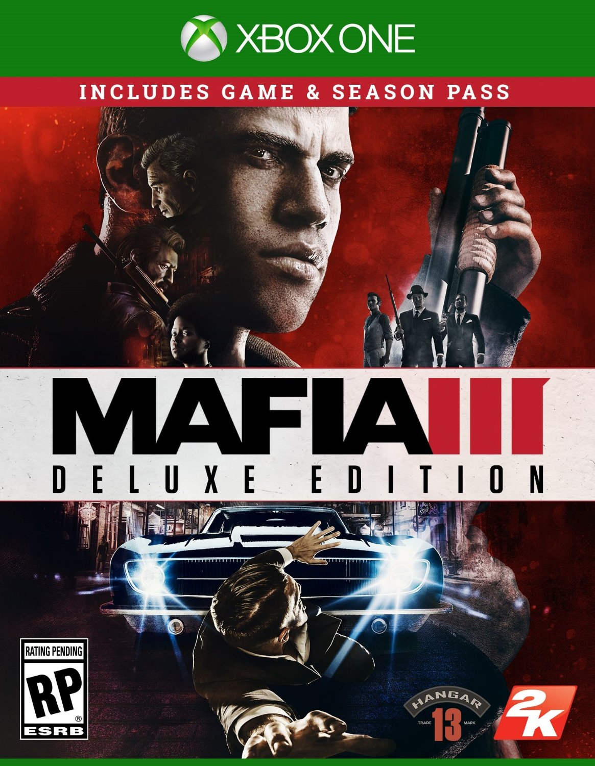 Mafia 3 - deluxe (Xbox One version)