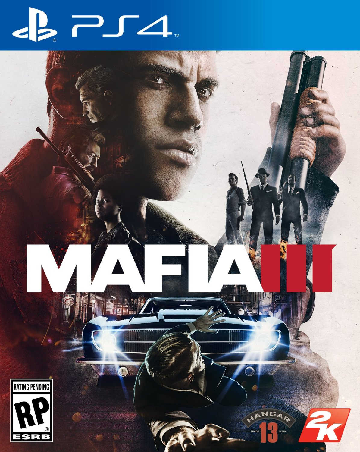 Mafia 3 - standard (PS4 version)