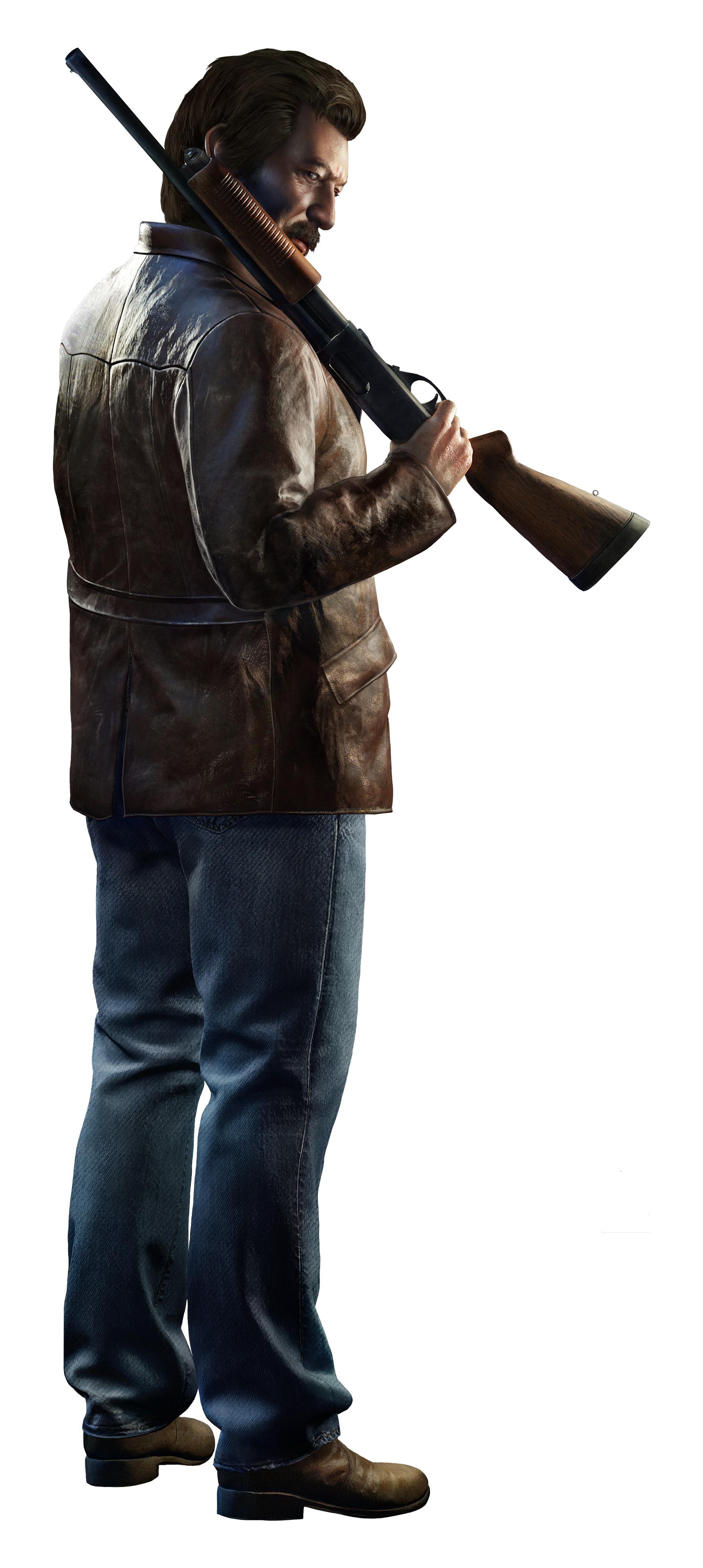 Mafia 3 render - Burke