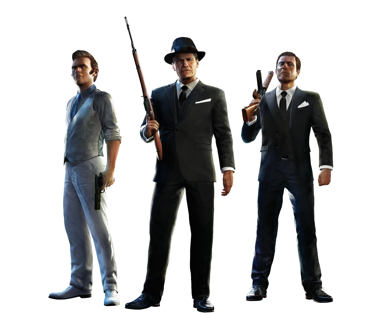 Mafia 3 render - Italians family