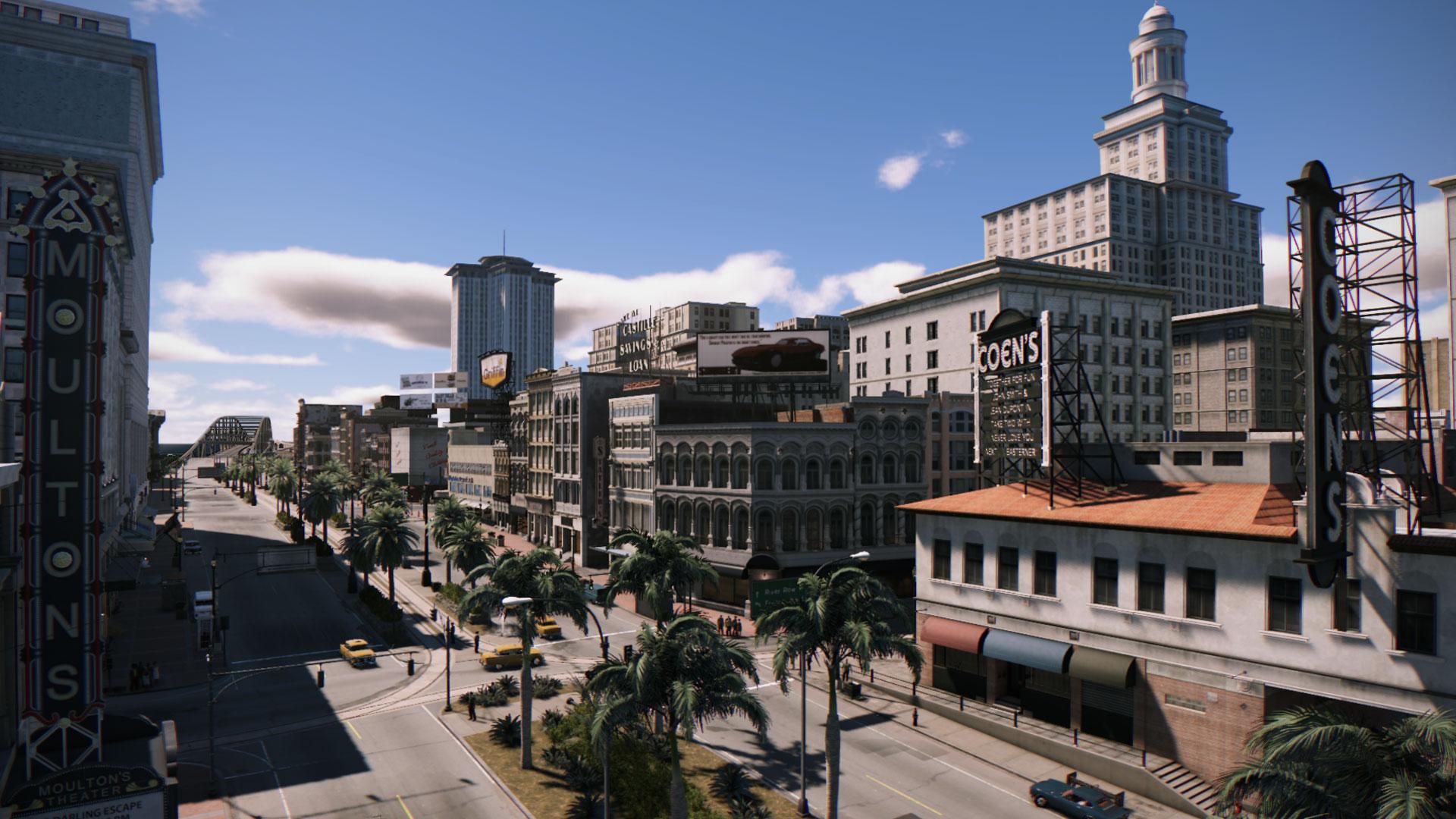 Mafia 3 - pohled na New Orleans