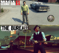 Podoba XCOM a Mafia 2