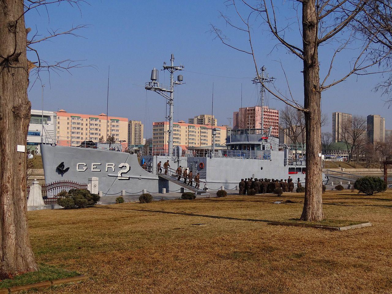 Pueblo-at-Pyongyang-Museum-2014