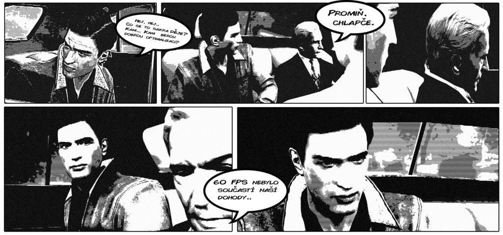 Mafia 3 komix - 2. místo