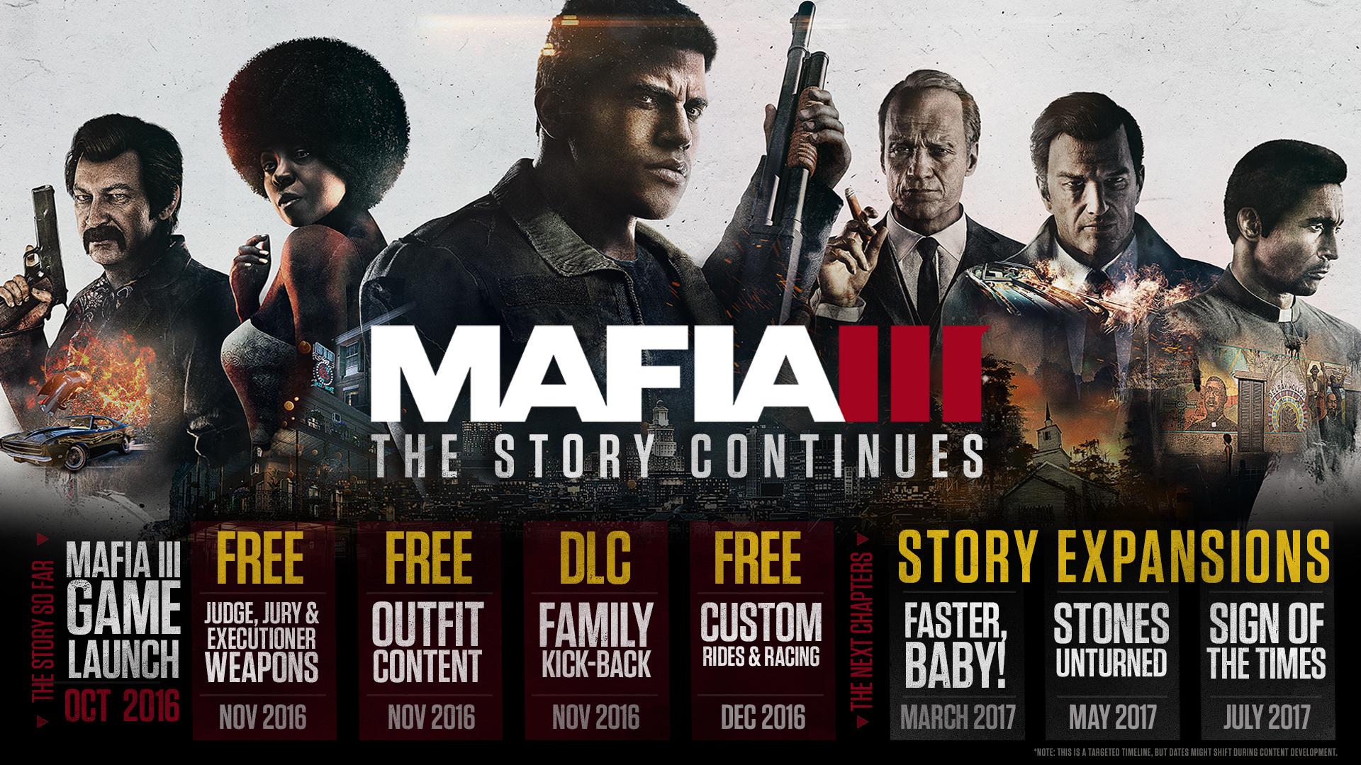Mafia 3 - plán DLC