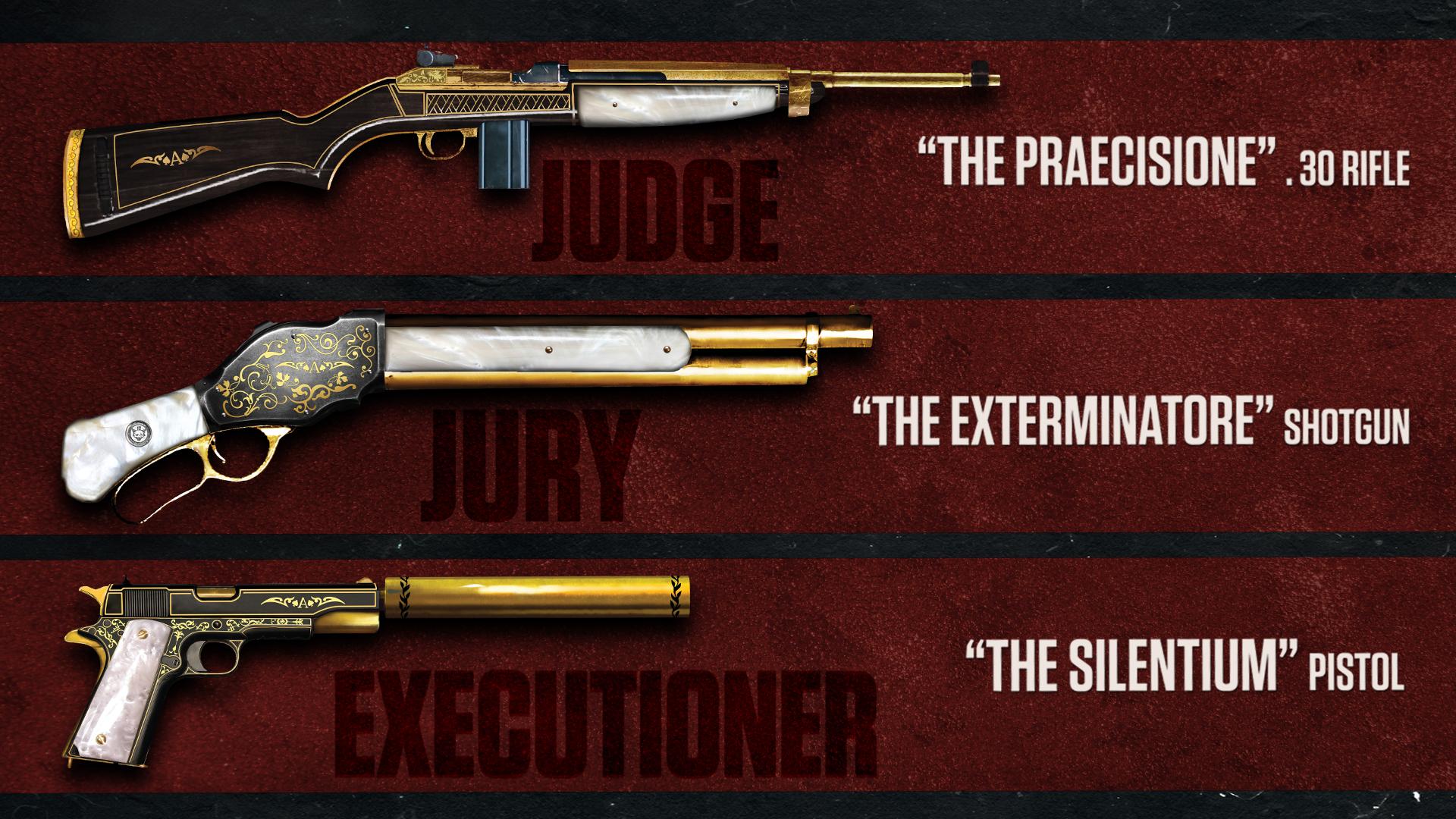 Zbraně - DLC